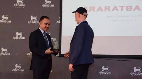 "ARARATBANK became the winner of ""Best Member of the Stock Exchange"" for the sixth time"