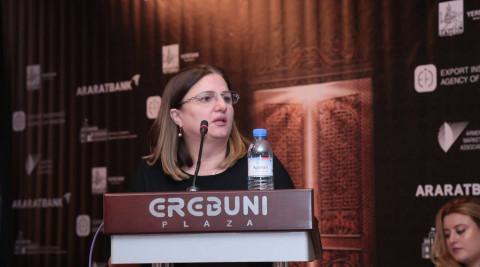 ԱՐԱՐԱՏԲԱՆԿԸ Հայաստանի արտահանողների համաժողովի գործընկեր