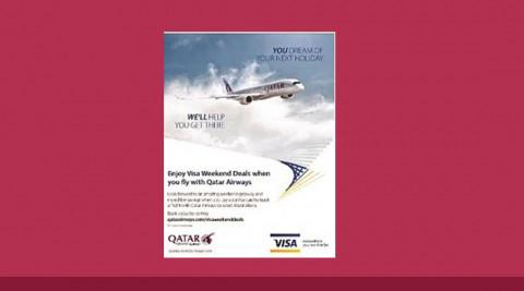 Հաճելի թռիչք ԱՐԱՐԱՏԲԱՆԿԻ VISA քարտապաններին