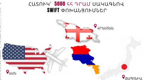 Հատուկ սակագնով փոխանցումներ դեպի Վրաստան, ԱՄՆ, Ճապոնիա