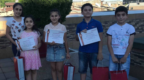 Green Armenia Facebook competition winners got awarded