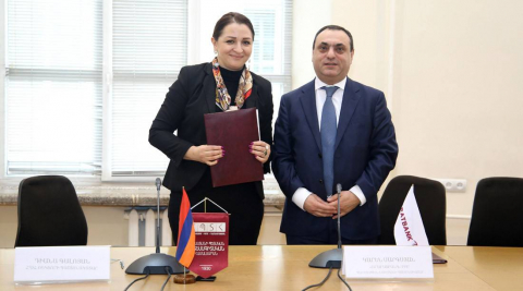 ARARATBANK and Armenian State University of Economics to implement a joint educational master's program
