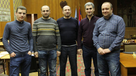 The chess team of ARARATBANK takes the 4th place