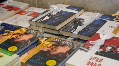 ԱրարատԲանկը գրքերով է դիմավորում իր գրքասեր հաճախորդներին