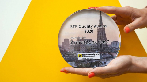 ARARATBANK honored with STP Quality Award 2020