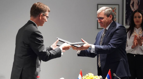 The signing of ground-breaking Agreement in the region