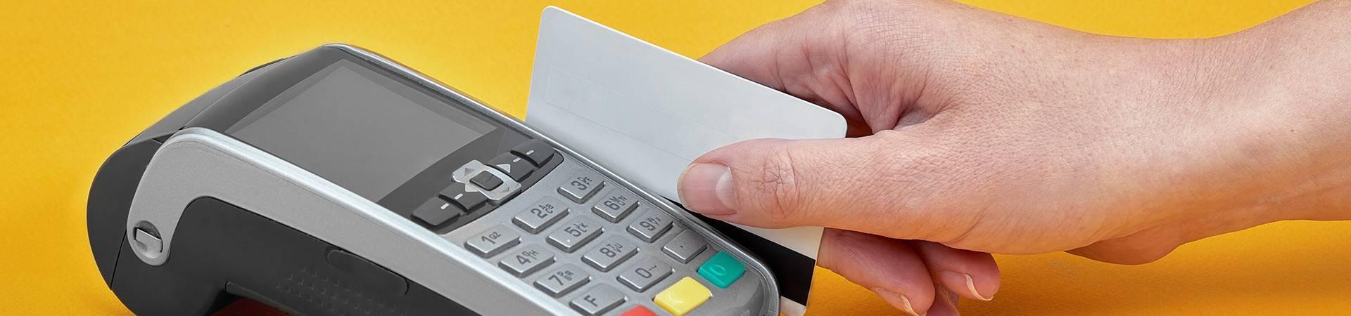 POS տերմինալներով բանկային ծառայությունների անկանխիկ վճարների ընդունում